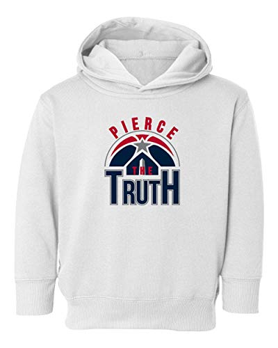 Basketball Fans Washington Paul The Truth Kids Hoodie Toddler Sweatshirt (White, 4T) ()
