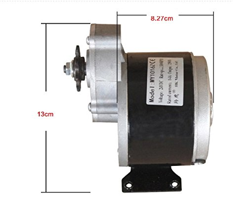 MY1016Z2 36V 250W electric motors for bikes E-bicycle high speed brush gear decelerating motor by sarach store