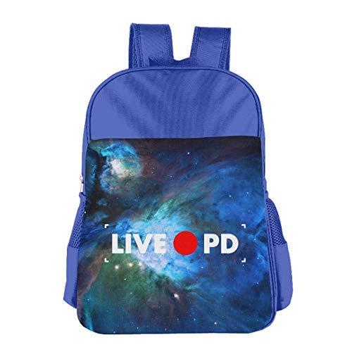 Rec Live PD Children 3D Printed Schoolbags Portable Bookbags Backpacks