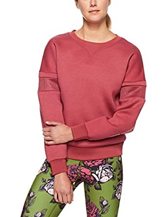 Lorna Jane Women's Hero Sweatshirt, Raspberry Sorbet, M