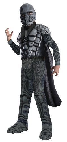Zod Man Of Steel Costume (Man of Steel Deluxe Child's General Zod Costume, Large)