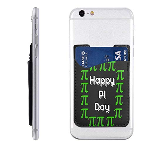 (Happy Pi Day Fashion Card Holder Back Phone Cell Phone Wallet Pocket Credit Card ID Business Card - iPhone Android)