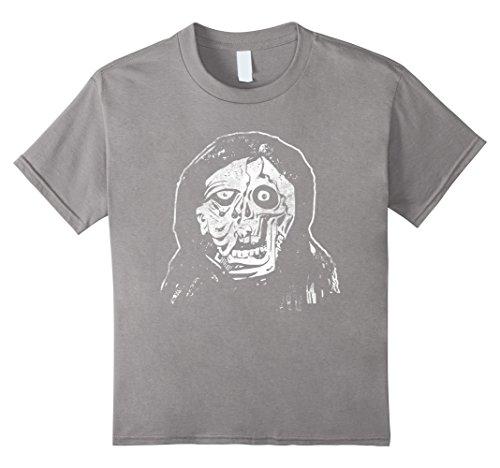 Adult Vintage Monster Costumes (Kids Halloween Vampire Zombie T-Shirt Monster Adult Costume Tee 10 Slate)