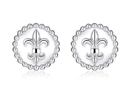 Highly Polished Sterling Silver Earrings