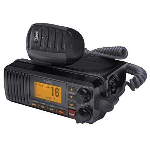 Uniden UM385BK 25 Watt Fixed Mount Marine Vhf Radio