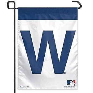 Amazoncom MLB Chicago Cubs WCR61118081 Garden Flag 11 x 15