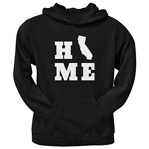 UPC 889357568315, California Home Black Adult Hoodie - 2X-Large