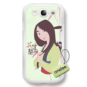 Disney Cartoon Mulan Hard Plastic Phone Case & Cover for Samsung Galaxy S3(i9300) - Black wangjiang maoyi by lolosakes