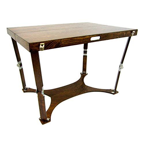 Spiderlegs Folding Picnic/Project Table, 42-Inch, Dark Walnut