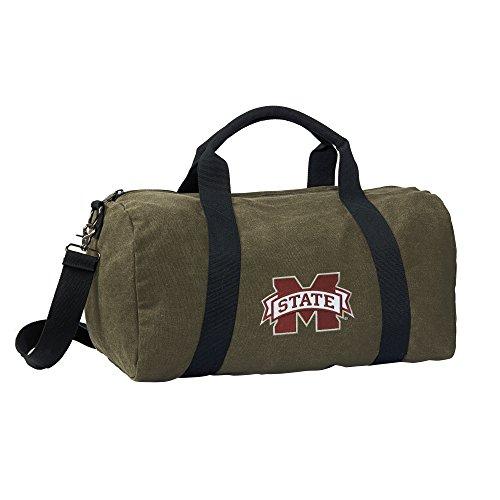 Mississippi State University Duffle Bag or CANVAS MSU Bulldo
