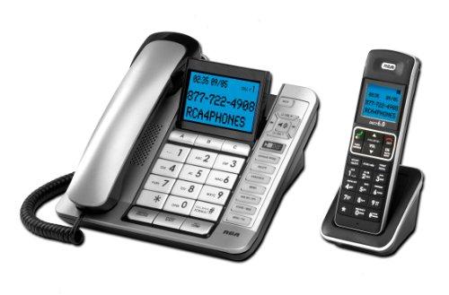 RCA Consumer 7114-2BSGA Corded Cordless ITAD, CID, Tilt (Speakerphone Cid Lcd)