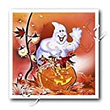 Halloween Ghost & Pumpkin Iron Transfers