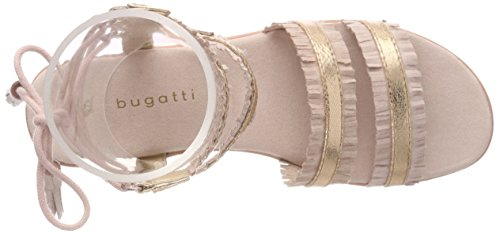 Bugatti Women's 411478816459 Gladiator Sandals Multicolour (Rose / Metallics 3490) gx9lgT0bGP