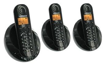 T�l�phone fixe TELEFUNKEN TB253N NOIR TRIO