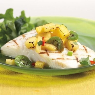 Wild Alaskan Halibut Fillets (Eight 6 oz. Halibut Fillets)