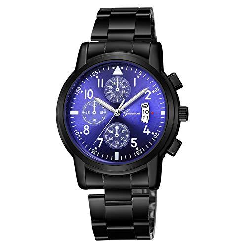 SUPERON Watch Men Reloj Hombre Luxury Stainless Steel Quartz Analog Date Wrist Watch Sport Watches horloges mannen relogio Masculino(H,1)