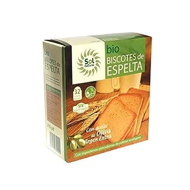 Biscotes de espelta Sol natural 270g: Amazon.es: Alimentación y ...