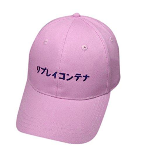 f83739df9 Lovely Yesmile Sombrero Gorra de Béisbol Del Algodón de La Letra del  Bordado Gorras Snapback Sombreros