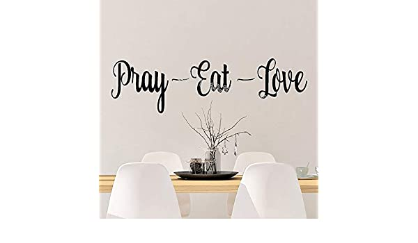 Apliques Orar Coma Citas de amor Pegatinas de pared Decoración ...