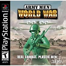 Army Men: World War [T] Sony Playstation 1 PS1 PSX Game