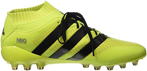 adidas Ace 16.1 Primeknit Ag, Botas de Fútbol para Hombre Amarillo (Amasol / Negbas / Plamet)