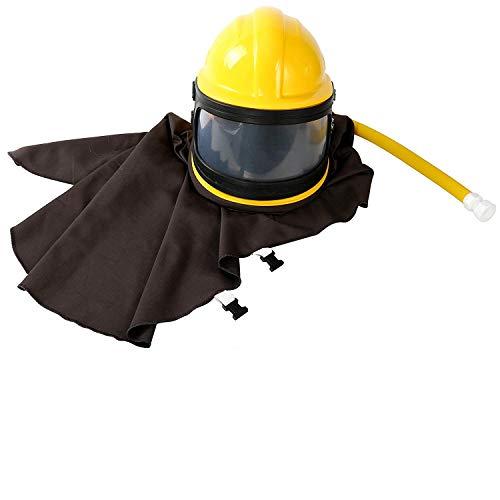 - YaeKoo AIR Supplied Safety Sandblast Helmet Sandblasting Hood Protector