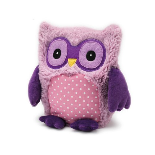 Intelex Hooty Microwaveable Plush, Purple