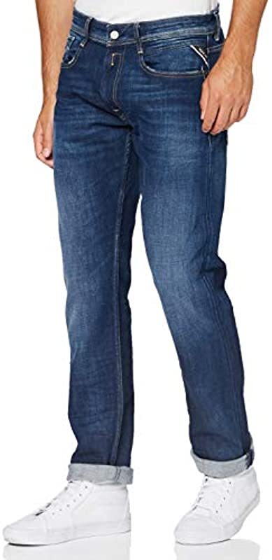 Replay Męskie Rocco Jeans: Odzież