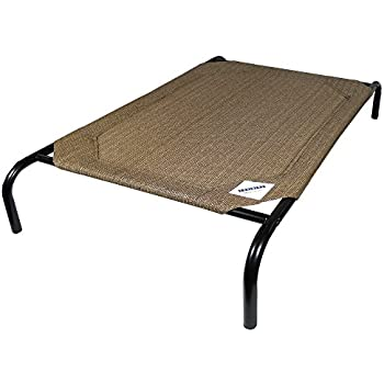The Original Elevated Pet Bed By Coolaroo - Small Nutmeg