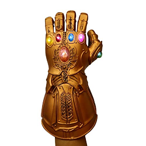 Thanos Gloves Gauntlet Halloween Cosplay Carnival Party Props Costume]()