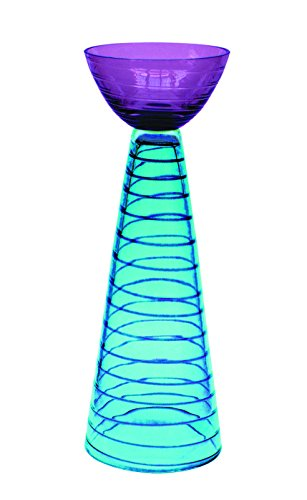 JOZEFINA ATELIER Idest Candle Holder, Turquoise Amethyst