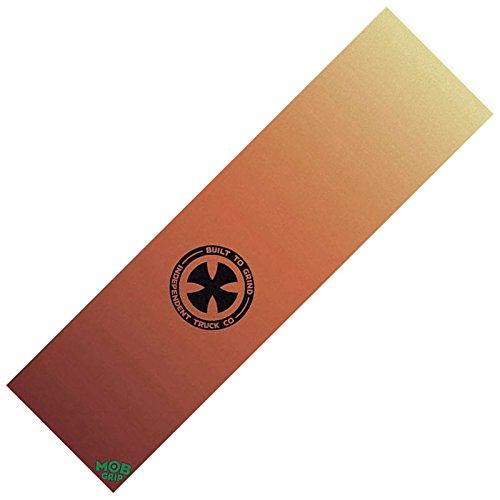 【Mob Grip】 モブ グリップ 【INDEPENDENT HOLIDAY Orange Grip Tape Sheet】9×33inch SKATEBOARD グリップテープ デッキテープ スケボー Deck Tape インディペンデント