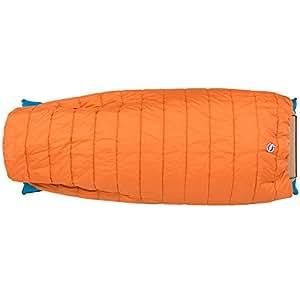 Big Agnes Buffalo Park 40° Thermolite Extra Sleeping Bag (Apricot - Long)