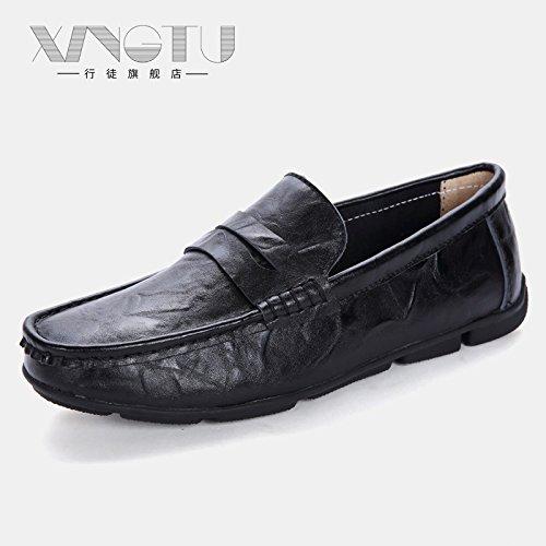di Classico alta Uomo Nero guida Scarpe auto le da che Casual scarpe qualità Pv8wP6fq