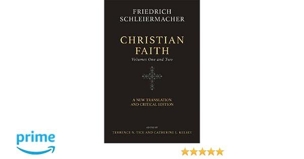 Schleiermacher The Christian Faith Pdf