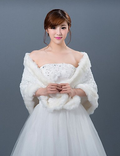 Vestidos de dama de honor del abrigo vestido boda invierno chal
