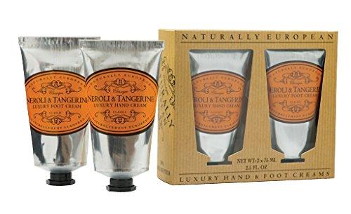 Luxury Foot Cream - Naturally European Neroli & Tangerine Luxury Hand And Foot Cream Gift Set 2 x 75ml