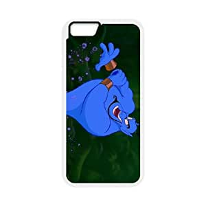 iPhone6 Plus 5.5 inch Phone Case White Aladdin Genie JHI2331462