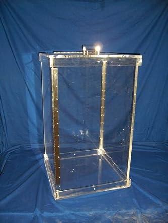 NALGE NUNC INTERNATIONAL 6745-9024 Acrylic Beta Waste Shield, 40 cm ...