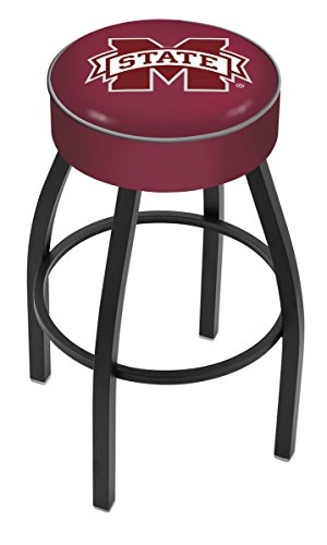 NCAA Mississippi State Bulldogs 30'' Bar Stool by Covers by HBS