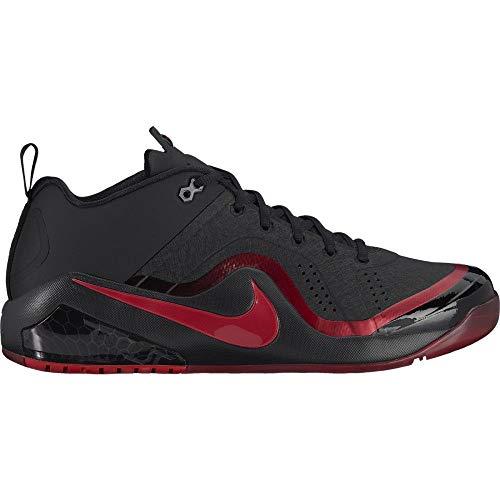 Nike Mens Zoom Trout 4 Low Turf Baseball Training ShoesTraining Shoes, Black/University Red, Size 10.5 (M) - Turf Training Zoom Nike