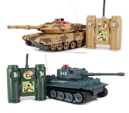 Hq iPlay RC Battling Tanks -Set of 2 Full Size Infrared Radio Remote  Control Battle Tanks - RC Tanks
