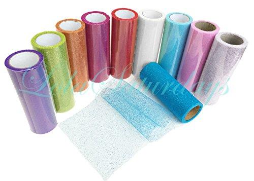 Glitter Tulle (LolaSaturdays 10 Glitter Tulle Pack 6