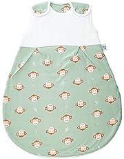 Hosenmax Sovpåse för Baby med Öppningar för Fötterna - Ekologisk Bomull & bomullsfyllning - TOG 2,5 - Baby Sovsäck för hela året