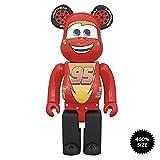 Medicom Disney's Lightning McQueen 400% Bearbrick Figure