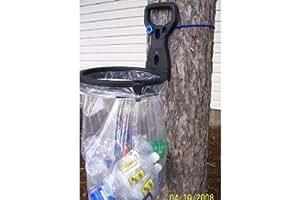 bagalot portable flexible bag holder holds any size plastic bag from a handled. Black Bedroom Furniture Sets. Home Design Ideas