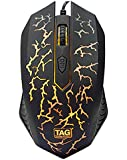 TAG Gaming Mouse - G5 with RGB Light Effect and Adjustable Upto 1600 dpi
