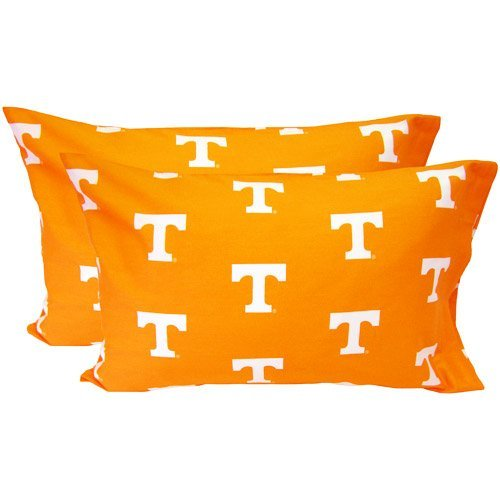 Tennessee Volunteers Case - College Covers Tennessee Volunteers Pillowcase Pair - Solid (Includes 2 Standard Pillowcases)