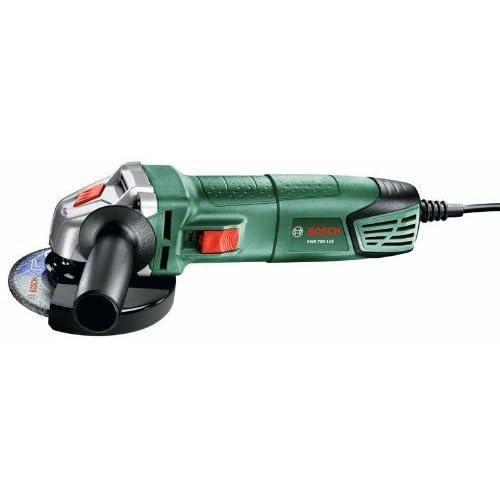 Bosch 06033A2004 Amoladora con maletín, 240 V, Negro, Verde, 700 W, Ø115 mm