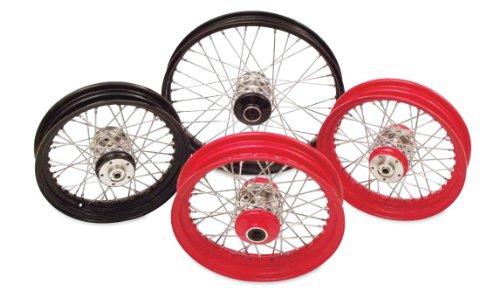 Paughco 225-S40FB Wheel Assembly (Powdercoated 40-Spoke Wheel Ft Lace 16X3 Black)